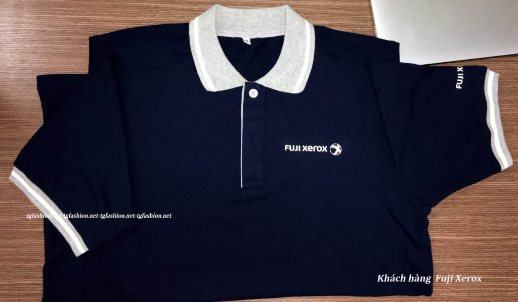 May đồng phục Fuji Xerox