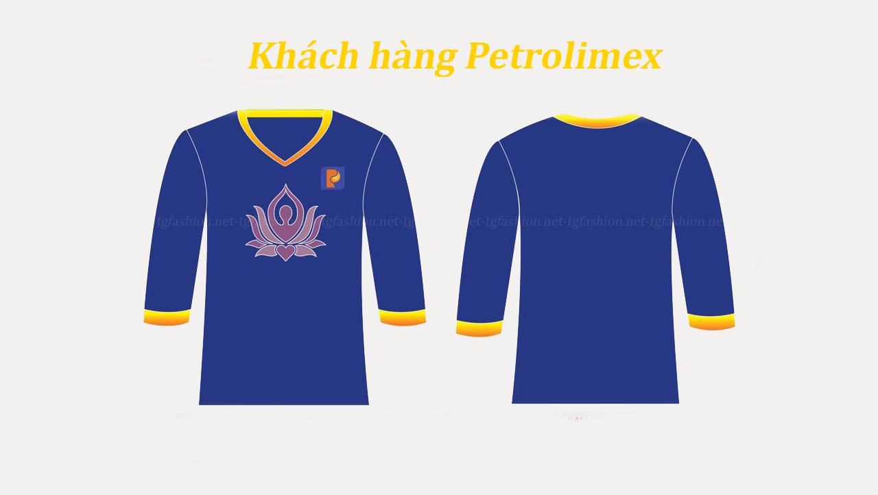 đồng phục khách hàng Petrolimex