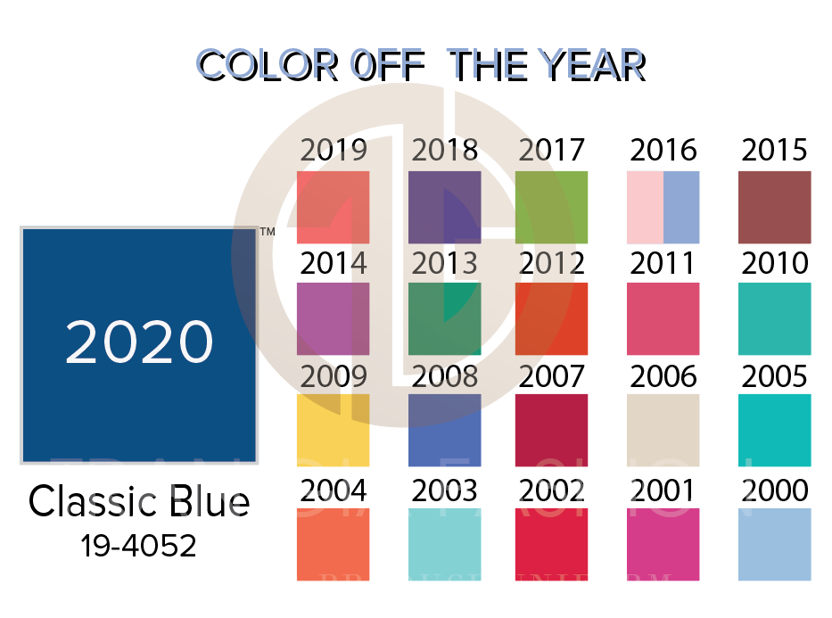 color of the years
