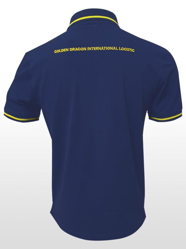 áo thun đồng phục công ty Rồng Vàng  3